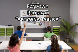 Rzadowy program aktywna tablica