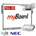 Aktywna Tablica Zestaw MyBoard Full HD LUX 90