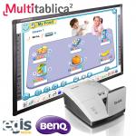 Aktywna Tablica Zestaw Multitablica IR BenQ MX854UST