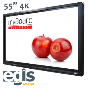 Aktywna Tablica monitory interaktywne myBoard 55 4K UHD
